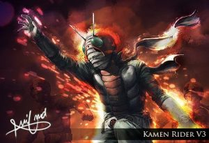 Kamen Rider V3 4