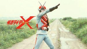 Kamen Rider X 5