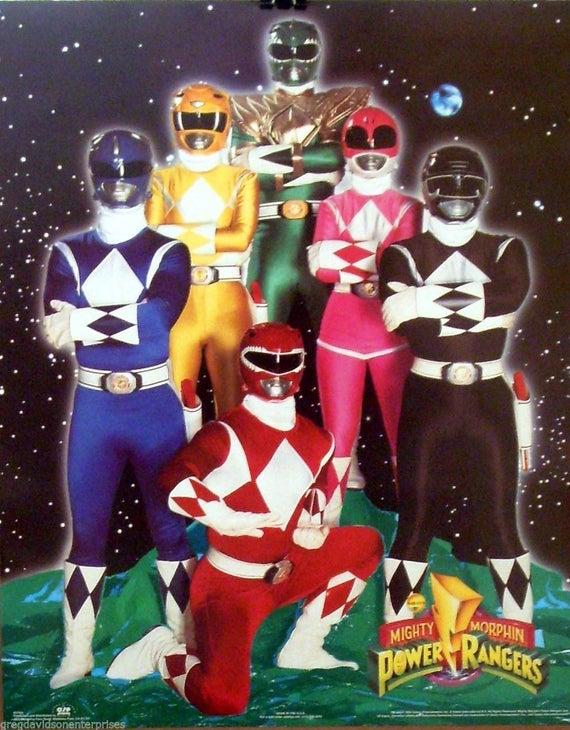 Mighty Morphin Power Rangers Season 01 7