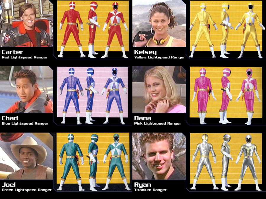 Power Rangers Lightspeed Rescue 24.
