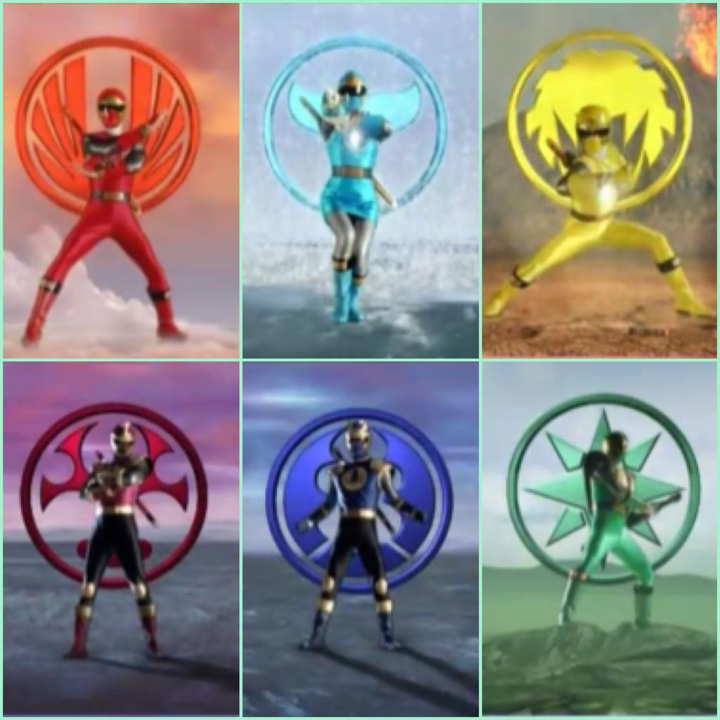 Power Rangers Ninja Storm 8