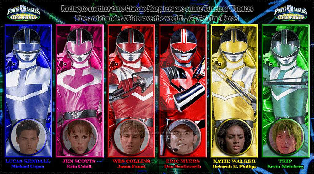 Power Rangers Time Force 10