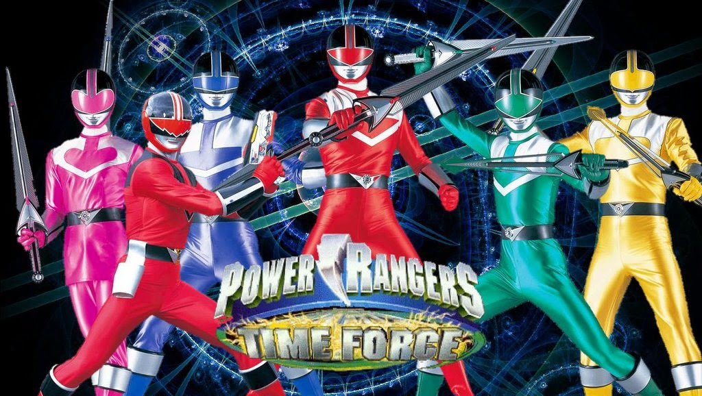 Power Rangers Time Force 14