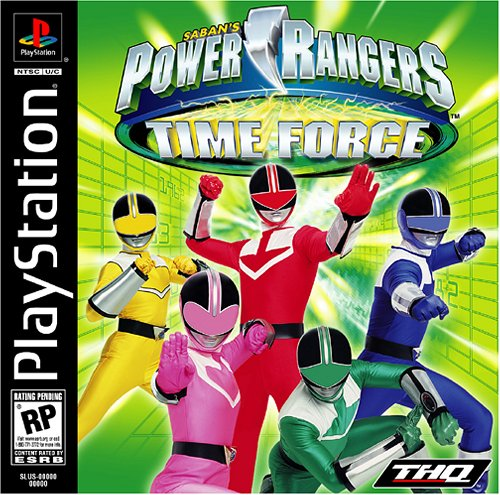 Power Rangers Time Force 17