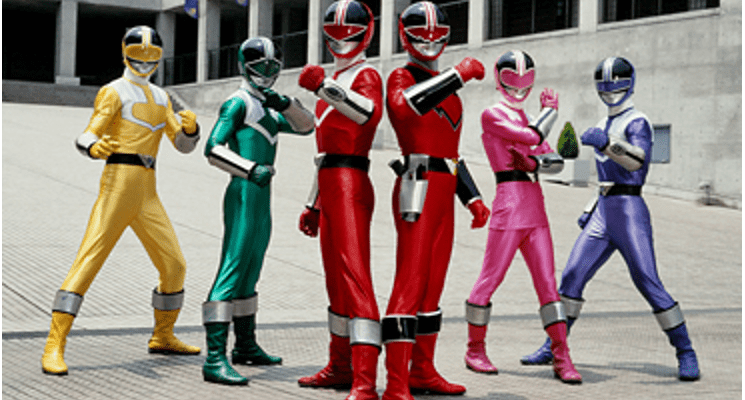 Power Rangers Time Force 19