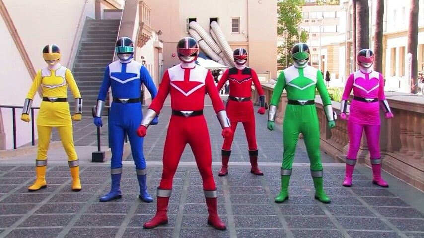 Power Rangers Time Force 3