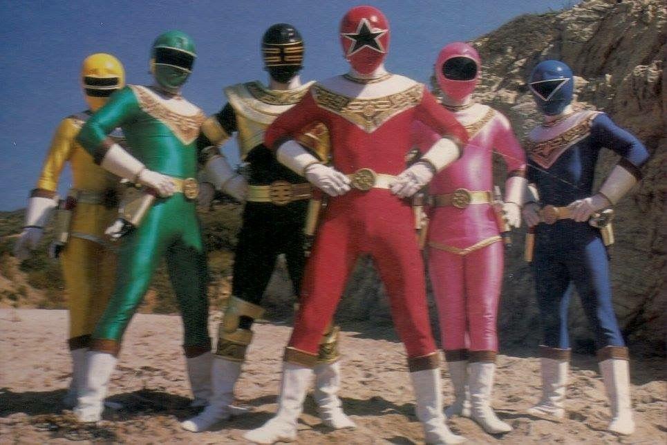 Power Rangers Zeo 3