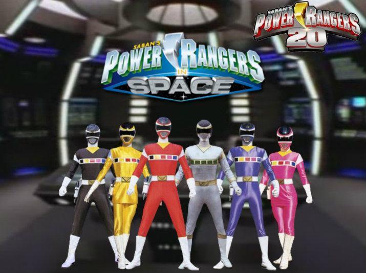 Power Rangers In Space 3