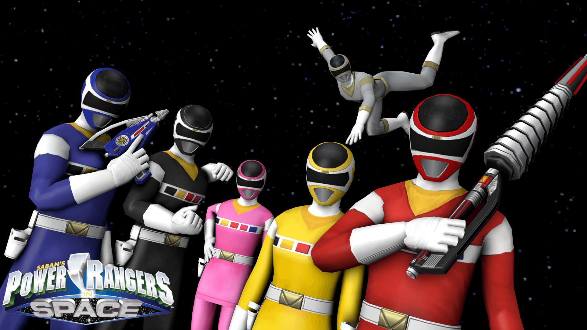 Power Rangers In Space 4