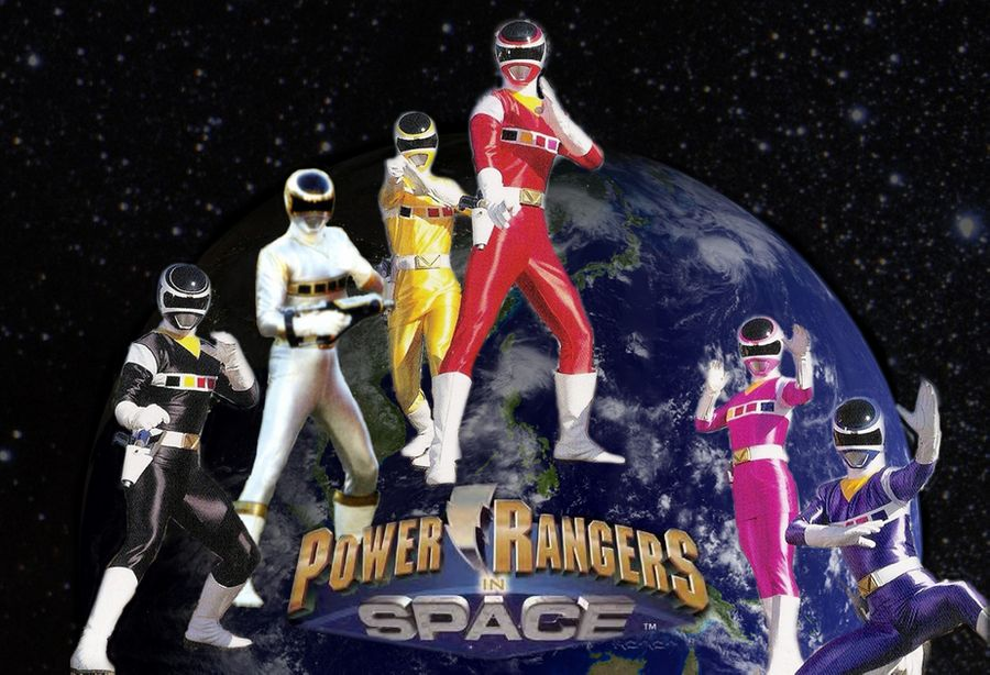 Power Rangers In Space 5
