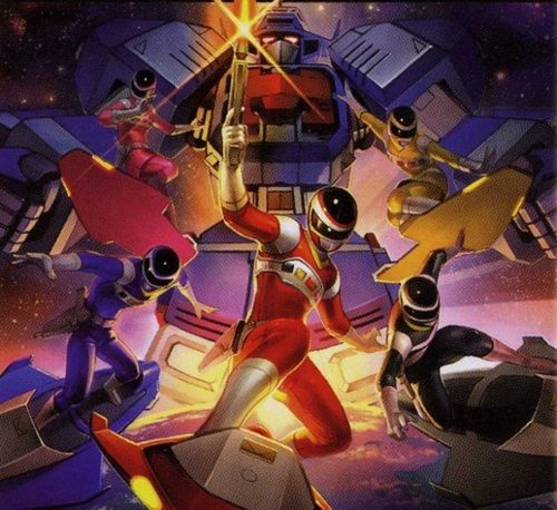 Power Rangers In Space 8