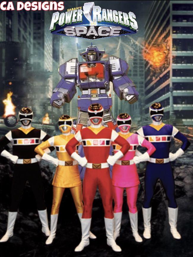 Power Rangers In Space 9