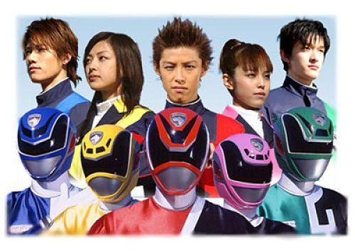 Tokusou Sentai Dekaranger 4
