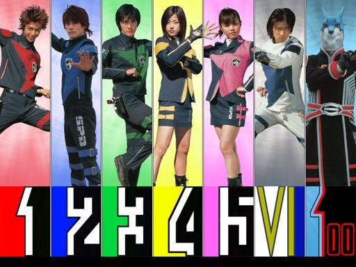 Tokusou Sentai Dekaranger 9