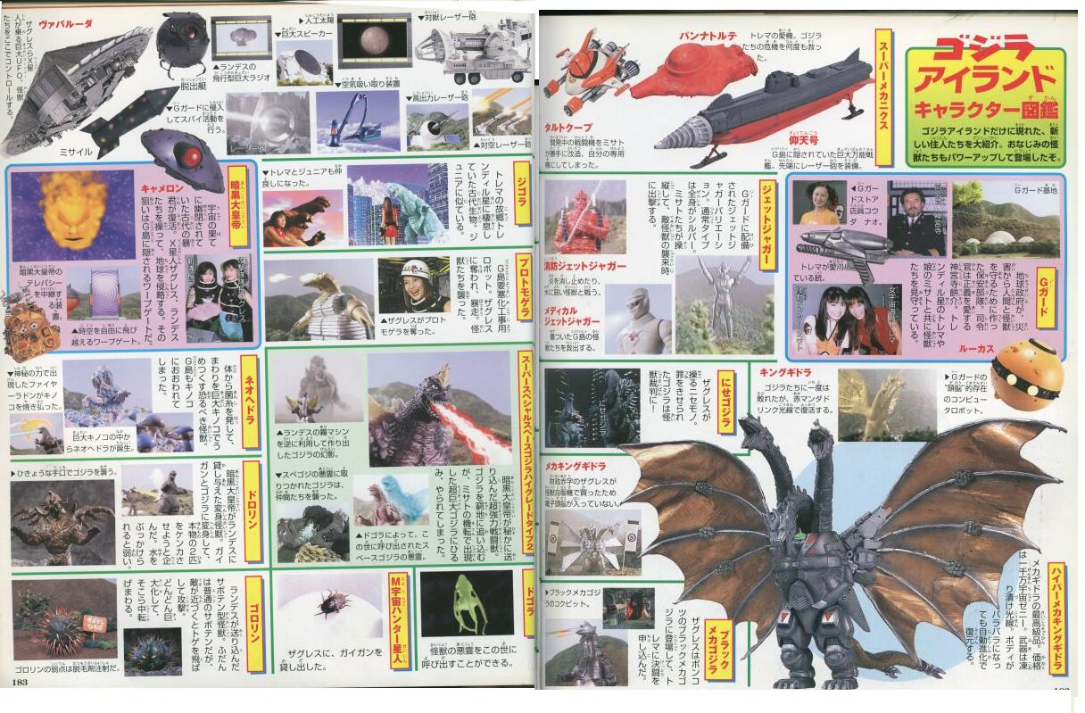 1997 Godzilla Island 13