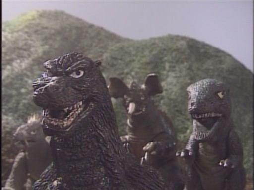 1997 Godzilla Island 3