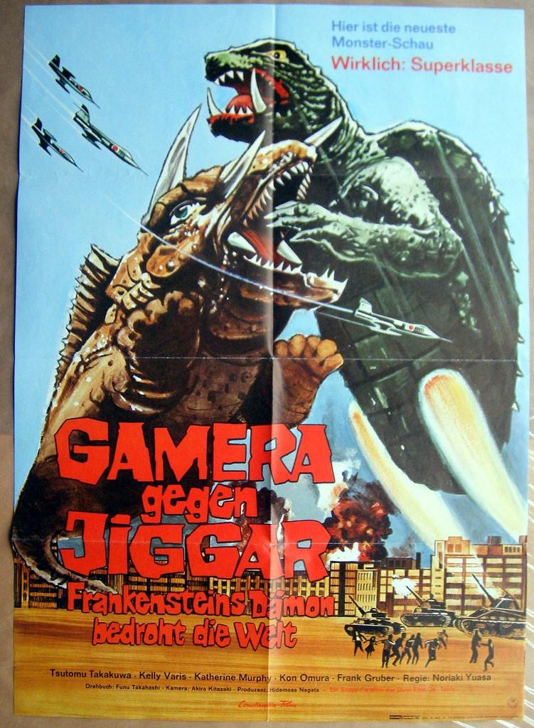 Gamera Vs Jiger 11