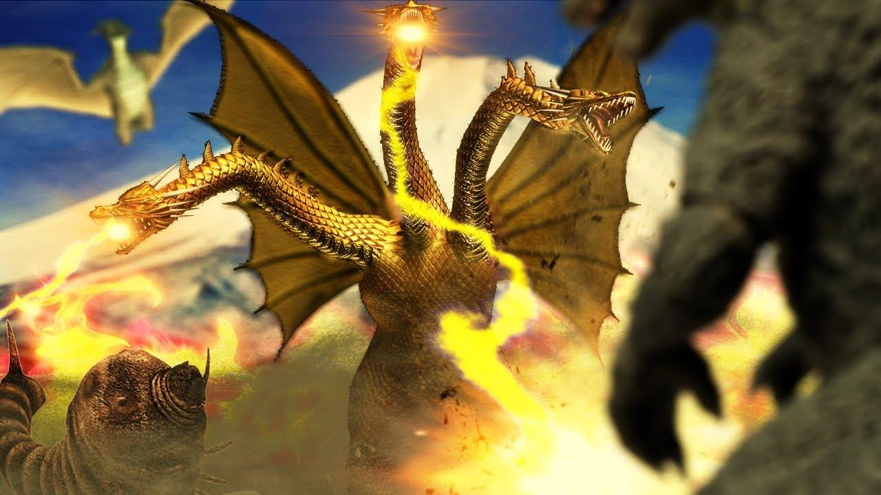 Ghidorah The 3 Headed Monster 3