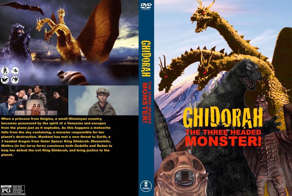 Ghidorah The 3 Headed Monster 6