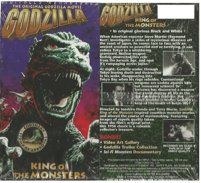 Godzilla, King Of The Monsters! 4