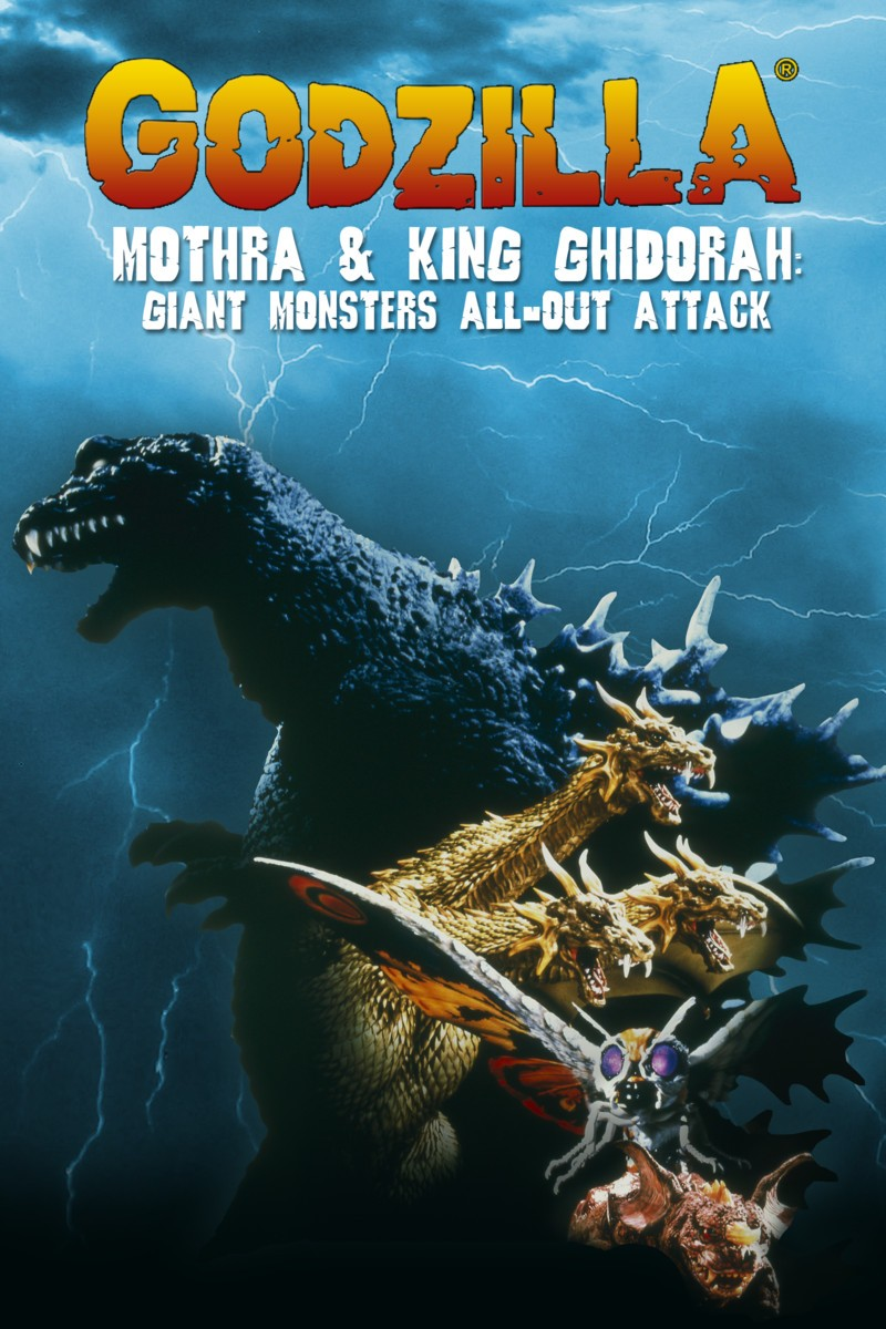 Godzilla, Mothra Và King Ghidorah Giant Monsters All Out Attack 11