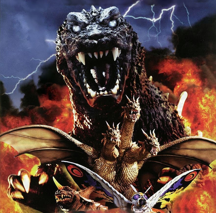 Godzilla, Mothra Và King Ghidorah Giant Monsters All Out Attack 7