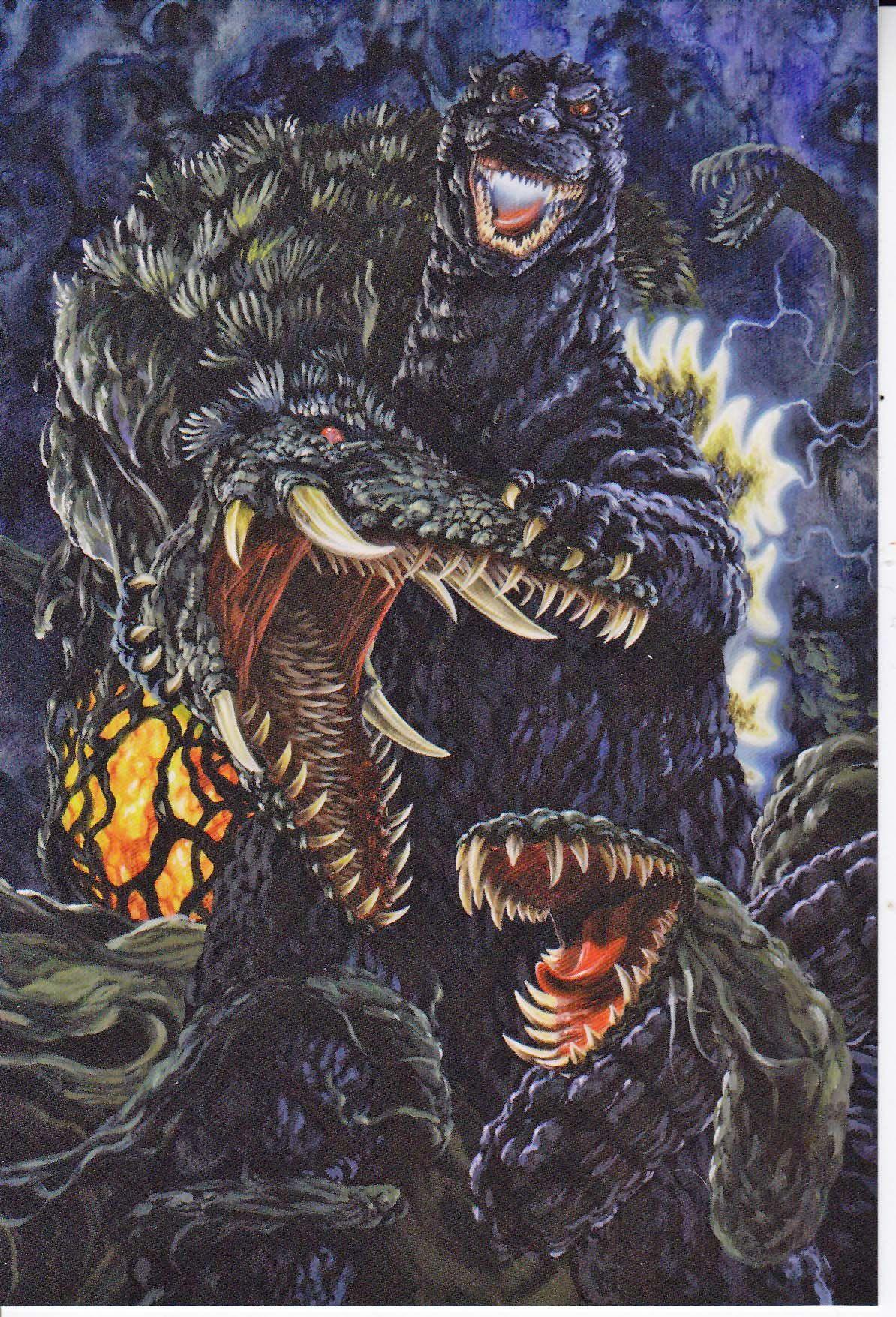 Godzilla Vs Biollante 8