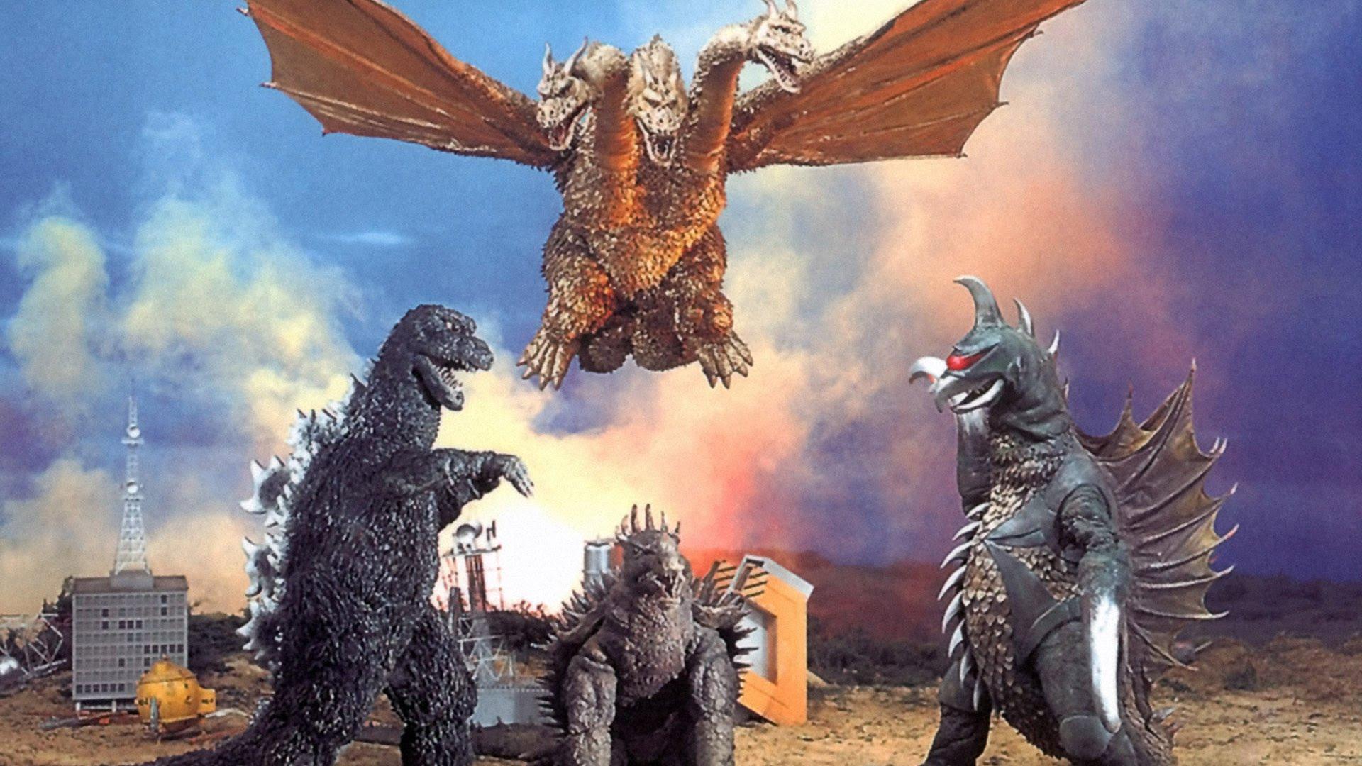 Godzilla Vs Gigan 3