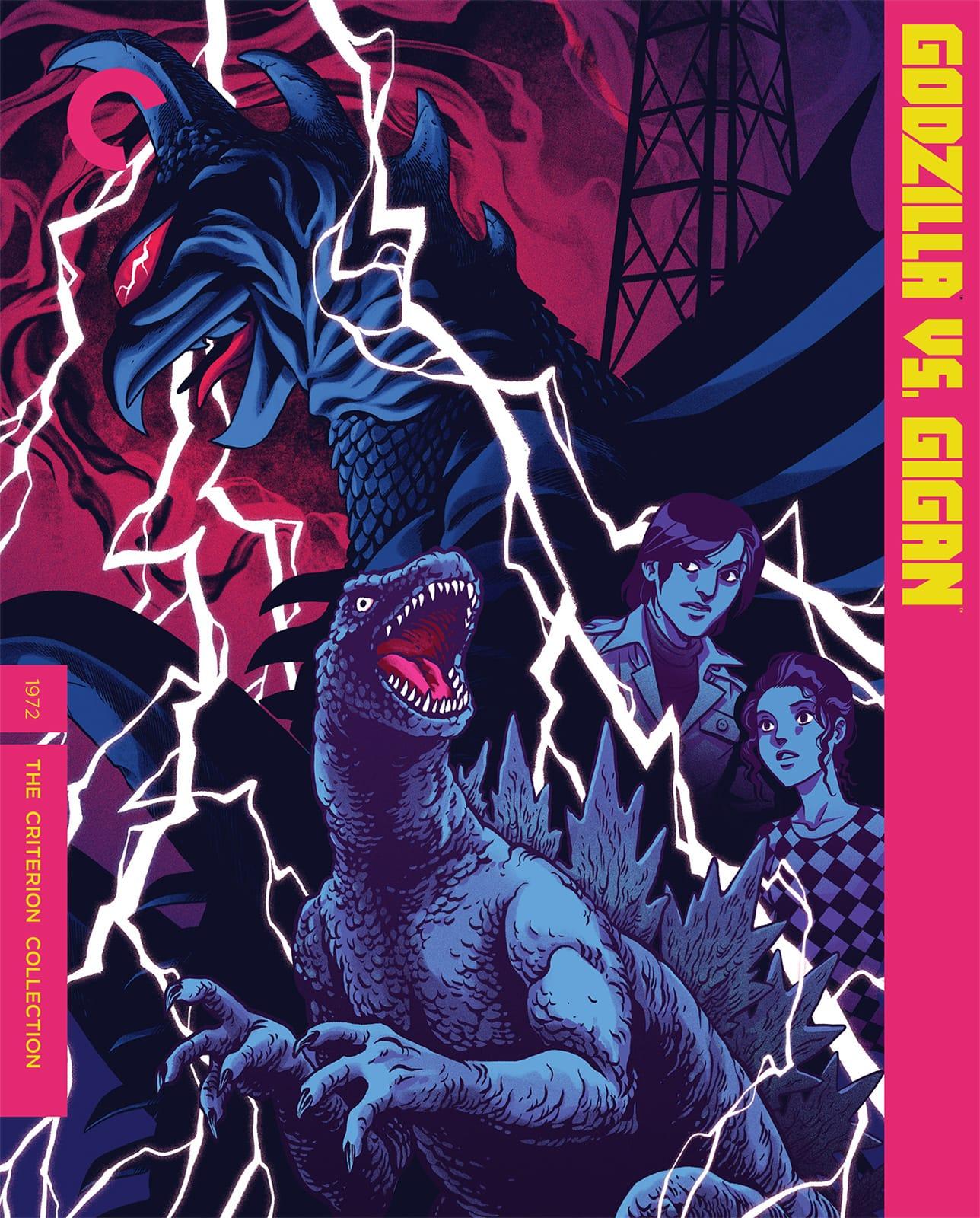 Godzilla Vs Gigan 4