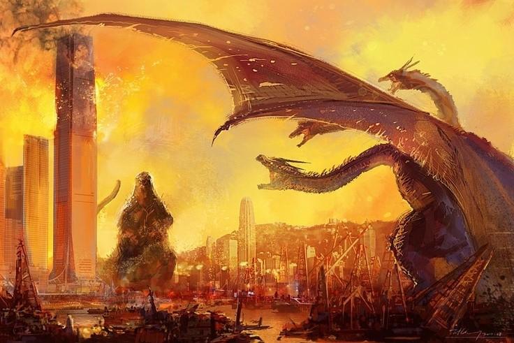 Godzilla Vs King Ghidorah 11