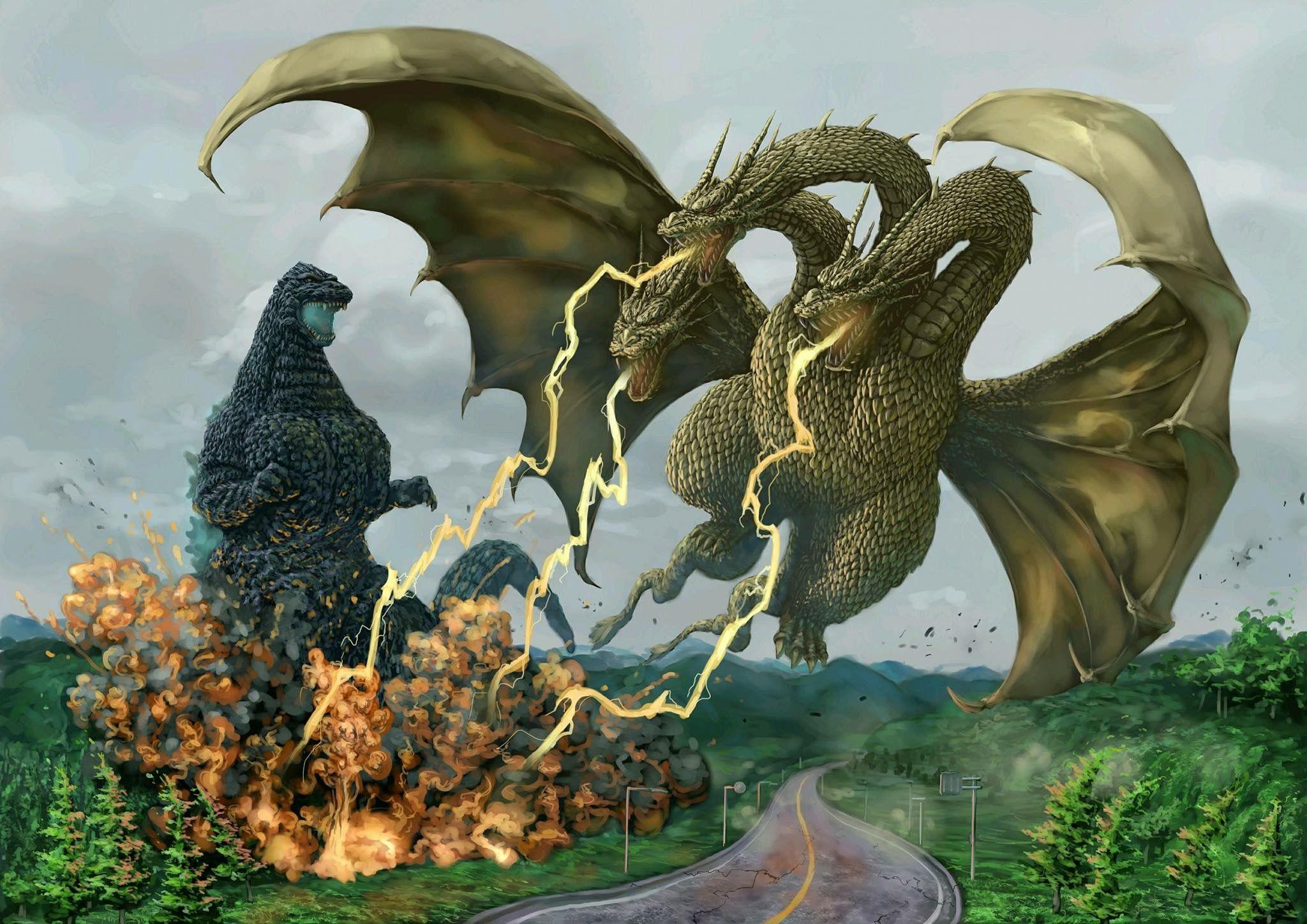 Godzilla Vs King Ghidorah 3