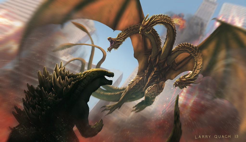 Godzilla Vs King Ghidorah 7