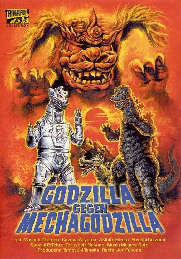 Godzilla Vs Mechagodzilla 11