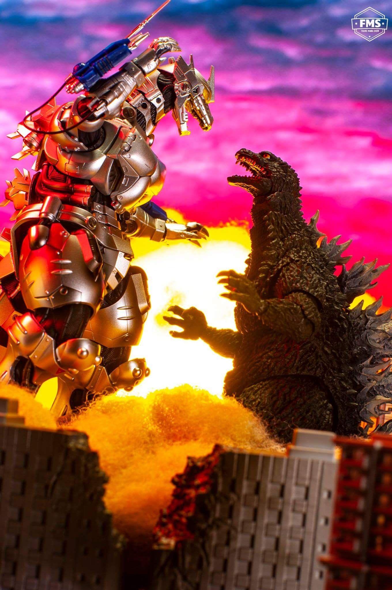 Godzilla Vs Mechagodzilla 12