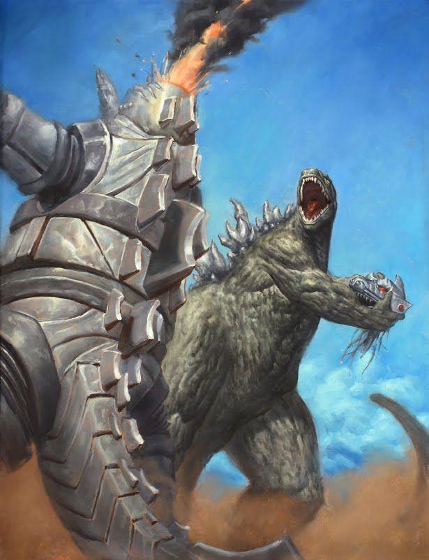 Godzilla Vs Mechagodzilla 16