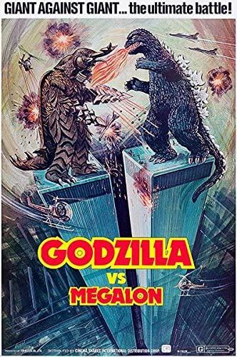 Godzilla Vs Megalon 5