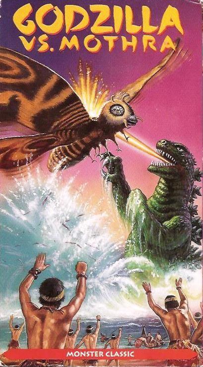 Godzilla Vs Mothra 5