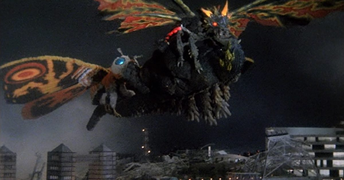 Godzilla Vs Mothra 6