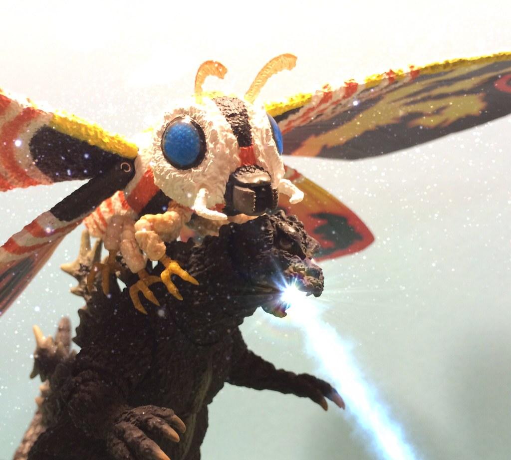 Godzilla Vs Mothra 9