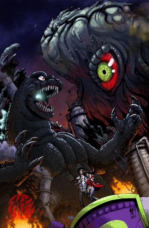 Godzilla Vs. Hedorah 7