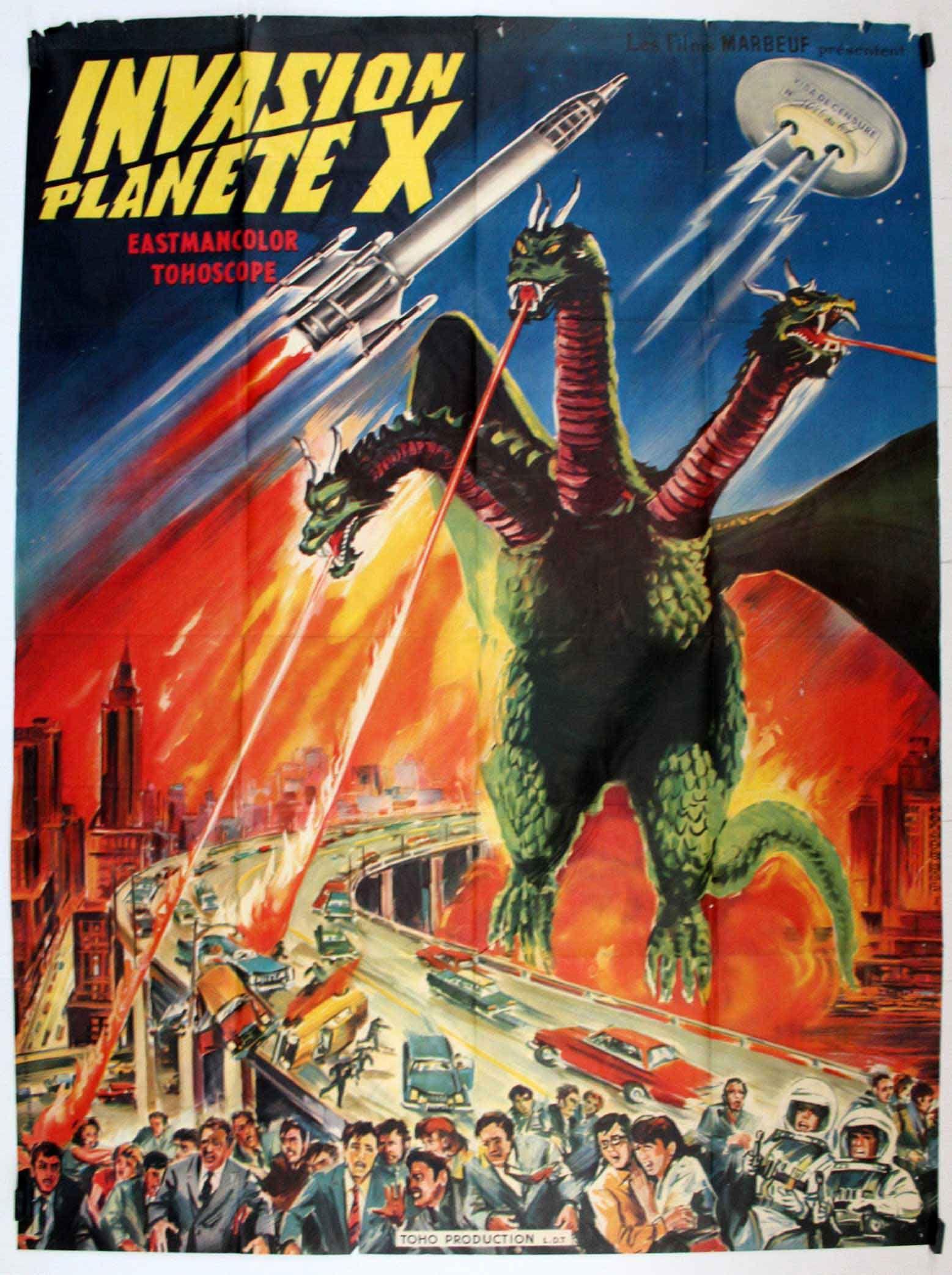 Invasion Of Astro Monster 4