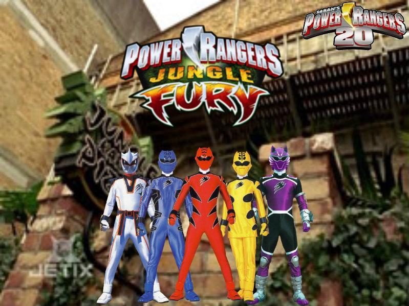 Power Rangers Jungle Fury 10
