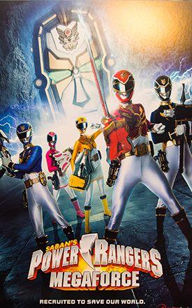 Power Rangers Megaforce 12