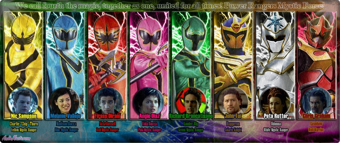 Power Rangers Mystic Force 6