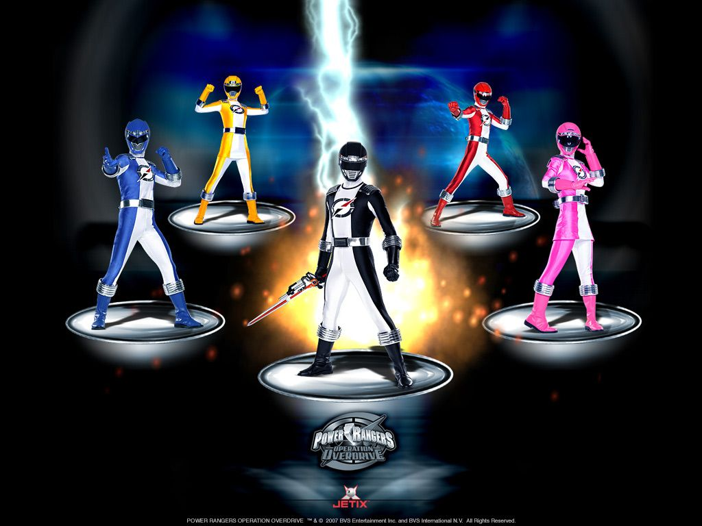 Power Rangers Operation Overdrive 11