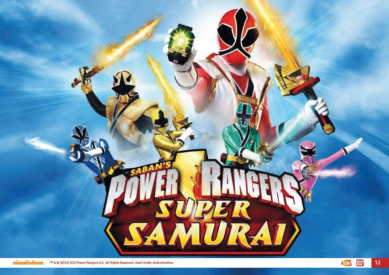 Power Rangers Samurai 4