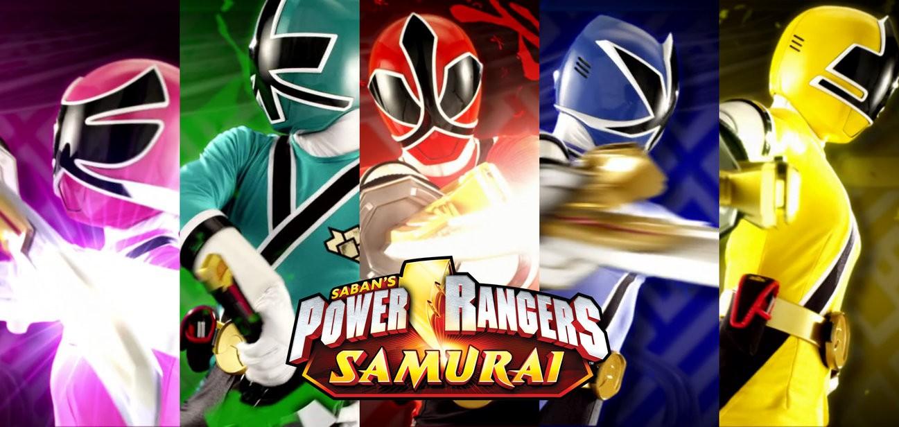Power Rangers Samurai 8