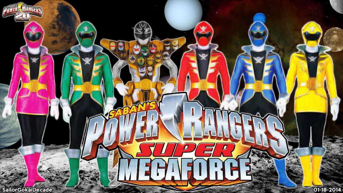 Power Rangers Super Megaforce 19