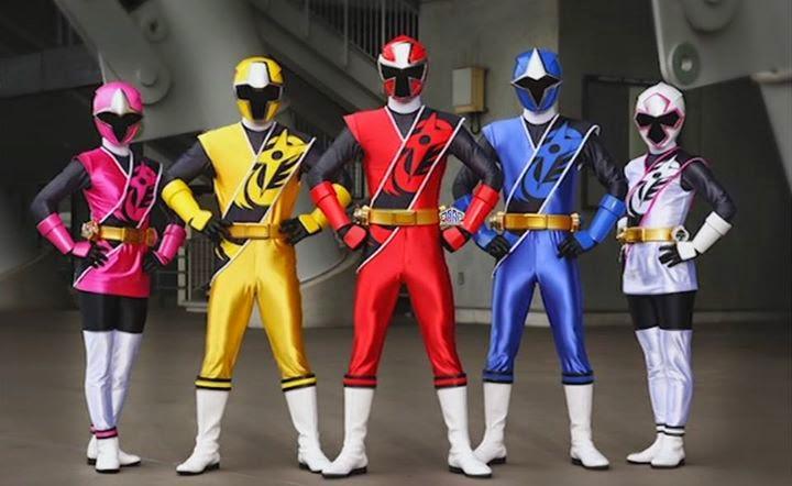 Power Rangers Super Ninja Steel 24