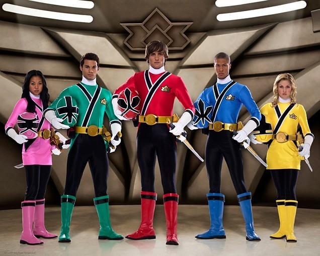Power Rangers Super Samurai 5